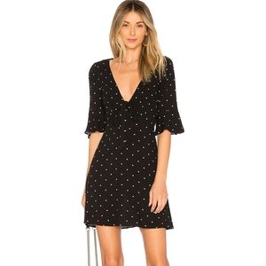 NWOT All Yours Mini Dress In Black Combo